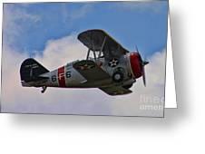 Grumman F3f-2 Bi-plane Greeting Card