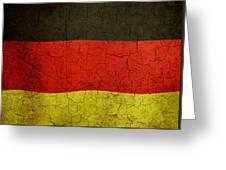 Grunge German Flag Greeting Card