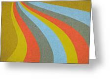 Grunge Retro Vector Background Greeting Card