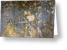 Grungy Cement Wall Greeting Card