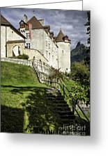 Gruyeres Castle Greeting Card