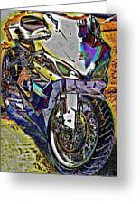 Gsxr Color Greeting Card