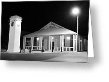 Gt Town Hall Greeting Card
