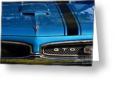 Gto In Blue Greeting Card