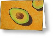 Guacamole Time Greeting Card