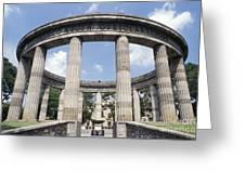 Guadalajara Rotunda Mexico Greeting Card