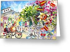 Guadalest 02 Greeting Card