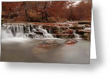 Guadalupe River Panorama Greeting Card