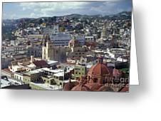 Guanajuato Skyline Mexico Greeting Card