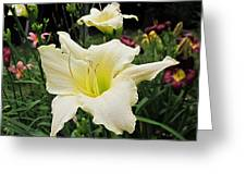 Guardian Angel Daylilies Greeting Card