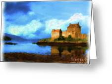 Guardian Of The Loch Greeting Card