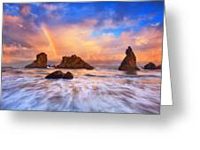 Guardians Of The Sea Greeting Card by Darren  White