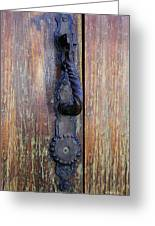Guatemala Door Decor 4 Greeting Card