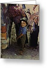 Guatemalan Boy Greeting Card