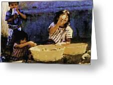 Guatemalan Children Greeting Card