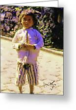 Guatemalan Little Boy Greeting Card