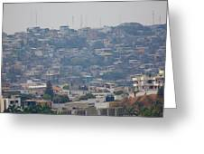 Guayaquil Overview Greeting Card