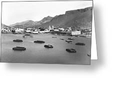 Guaymas Harbor Greeting Card