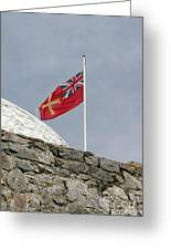 Guernsey Flag Greeting Card