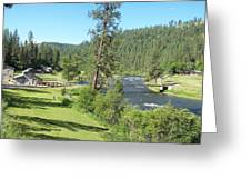 Guest Ranch Greeting Card