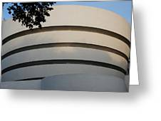 Guggenheim In The Round Greeting Card