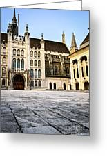 Guildhall Building And Art Gallery Greeting Card by Elena Elisseeva