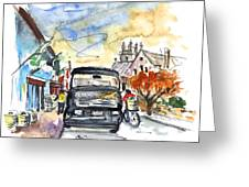 Guinness Delivery In Howth Greeting Card