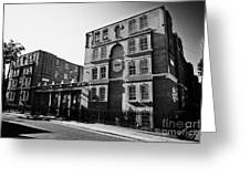 guinness trust buildings in snowsfields southwark London England UK Greeting Card