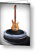 Guitar Desplay V1 Greeting Card by Frederico Borges
