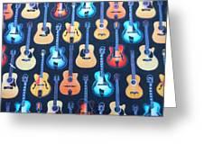 Guitar Heaven Greeting Card