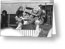 Guitar Jam At Day On The Green In Oakland 1976 Greeting Card
