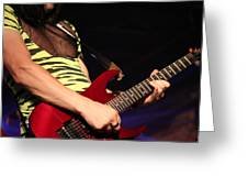 Guitar Greeting Card by James Hammen