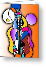 Guitar Love Greeting Card