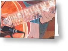 Guitar Music Greeting Card