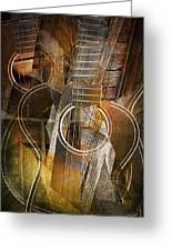 Guitar Works Greeting Card
