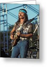 Guitarist Dickie Betts Greeting Card