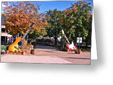 Guitars At The Grand Old Opry Greeting Card