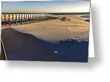 Boardwalk To The Gulf  Greeting Card