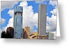 Gulf Building Houston Texas Greeting Card