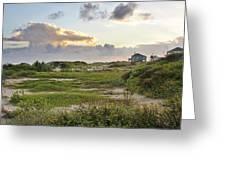 Gulf Coast Galveston Tx Greeting Card
