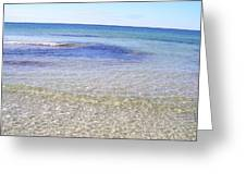 Gulf Of Mexico Beauty Greeting Card