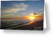 Gulf Shores Alabama Sunset2 Greeting Card by LCS Art