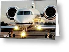 Gulfstream G550 Greeting Card