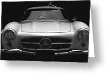 Gullwing Mercedes Greeting Card