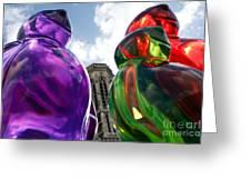 Gummy Bears In Paris Greeting Card