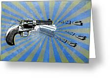 Gun 17 Greeting Card
