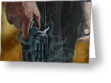 Gunfighter Greeting Card
