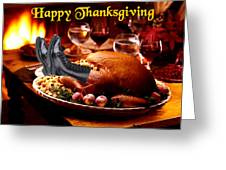 Gung Ho Turkey Greeting Card