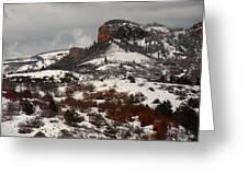 Gunnison National Park Greeting Card