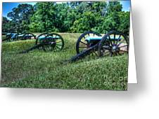 Guns Of Vicksburg Greeting Card